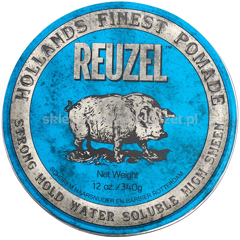 REUZEL Blue Pomade - 12oz/340g