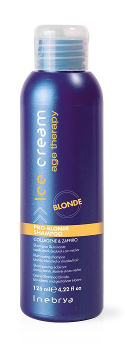 Inebrya Pro-blonde Shampoo rozjasňující šampón 125 ml
