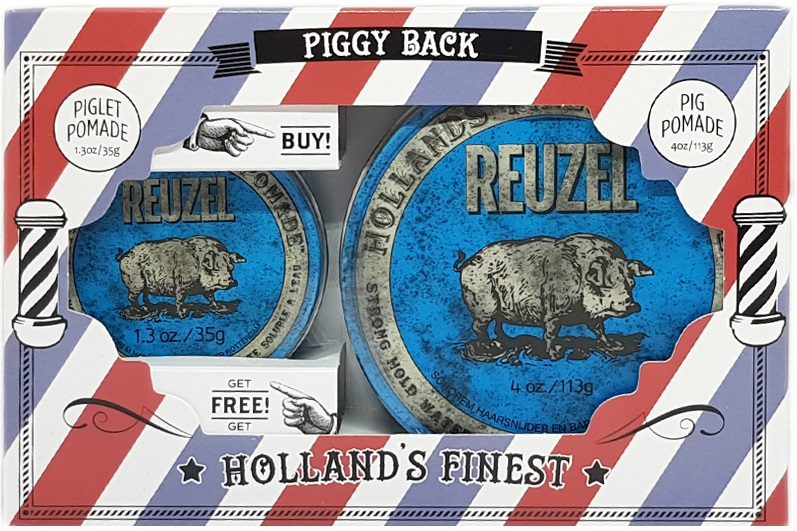 REUZEL Piggy Back Blue Gift Pack