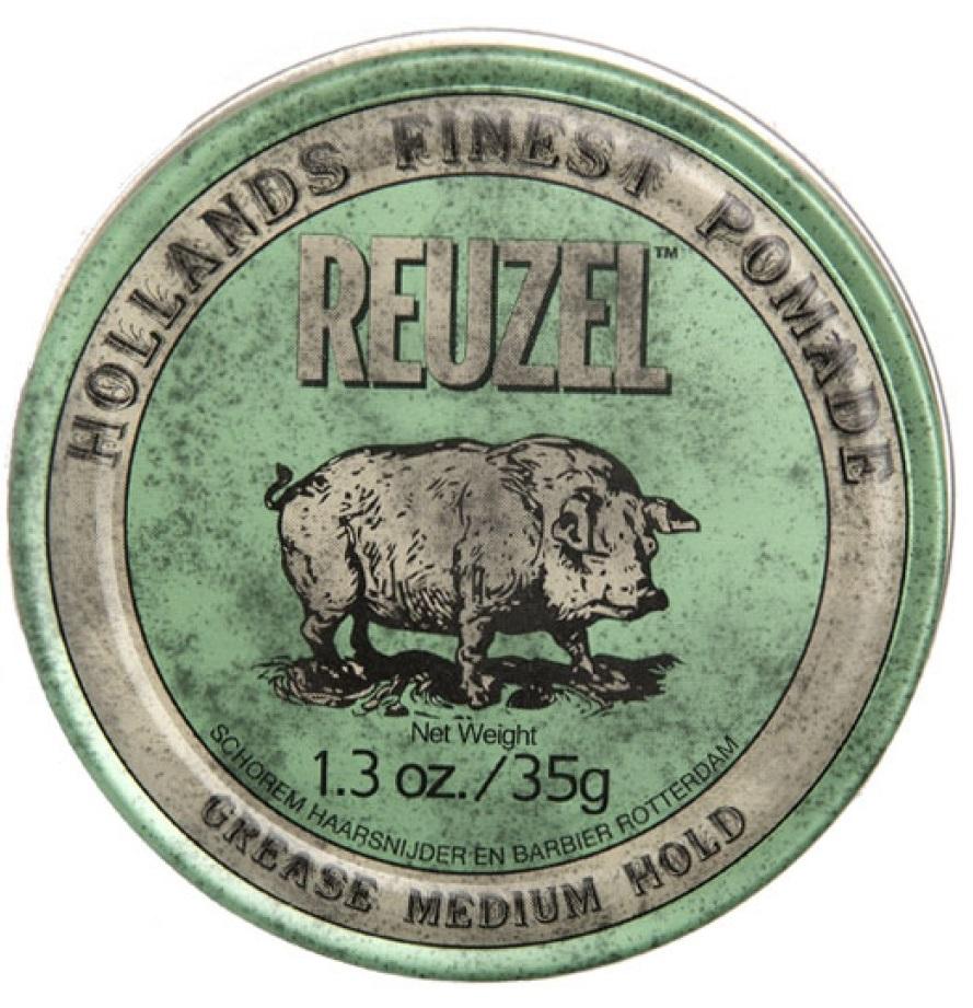 REUZEL Green Pomade - 1.3oz/35g