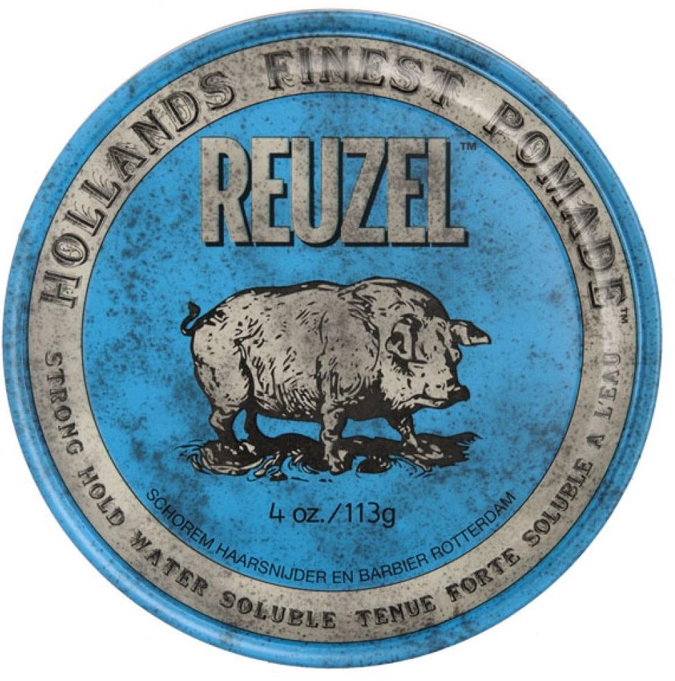 REUZEL Blue Pomade - 4oz/113g