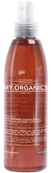 MY.ORGANICS The Organic Ocean Spray Dead Salt And Lavender 250ml