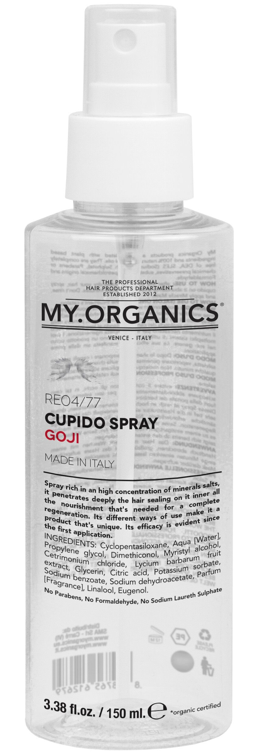 MY.ORGANICS Cupido Spray Goji 150ml