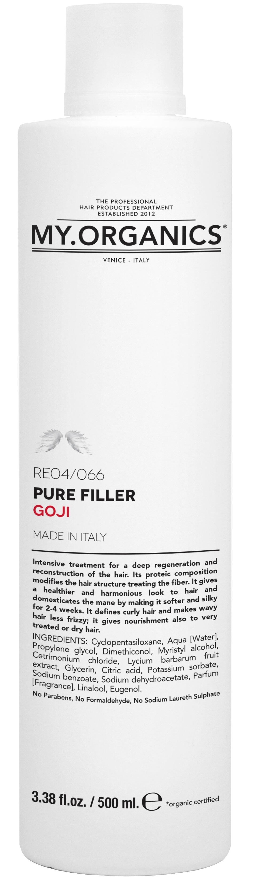 MY.ORGANICS Pure Filler Goji 500ml