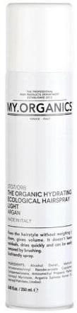 MY.ORGANICS The Organic Hydrating Ecological Hairspray Light Argan 250ml