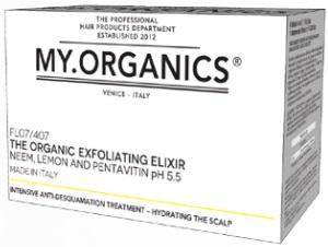 MY.ORGANICS The Organic Exfoliating Elixir Neem, Lemon And Pentavitin 6 Vials