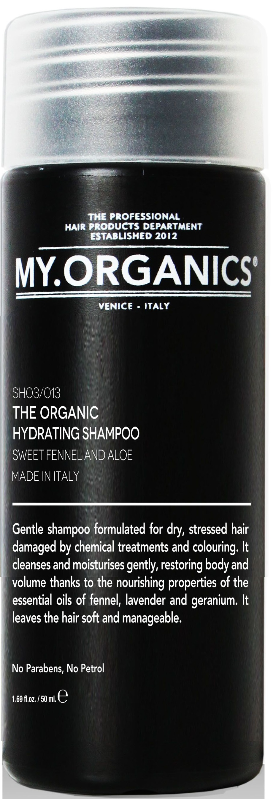 MY.ORGANICS The Organic Hydrating Shampoo Sweet Fennel And Aloe 50ml