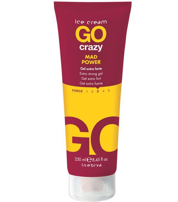 CRAZY Mad Power 250ml - krémový gel s přirozeným efektem