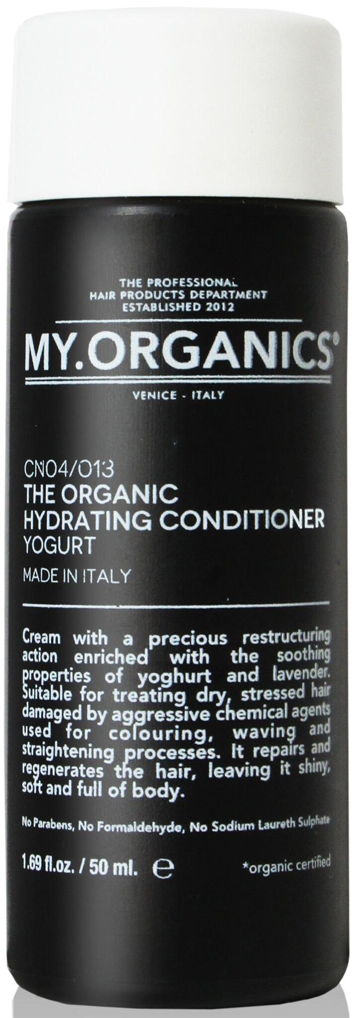 MY.ORGANICS The Organic Hydrating Conditioner Yogurt 50ml