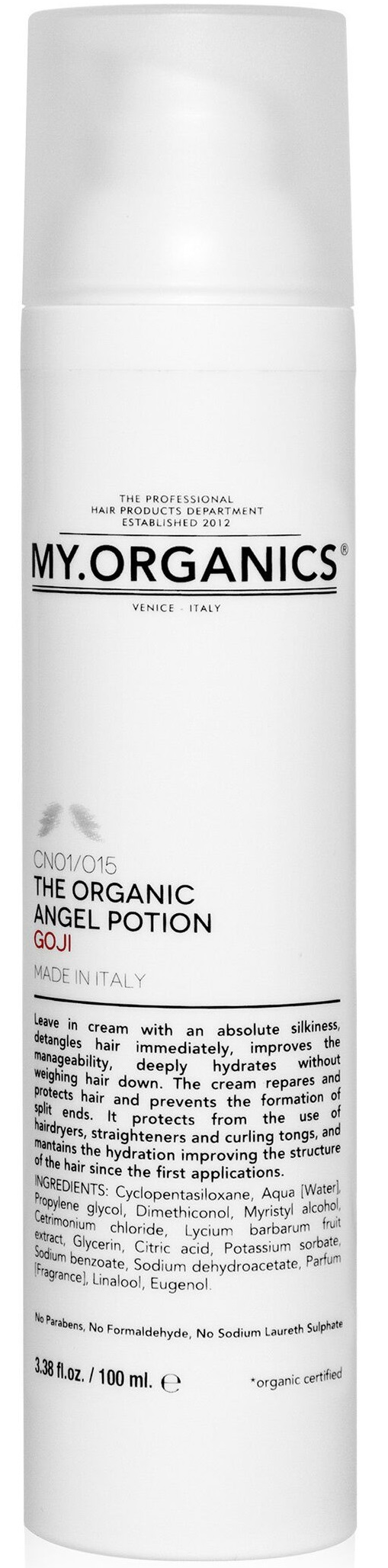 MY.ORGANICS The Organic Angel Potion Goji 100ml