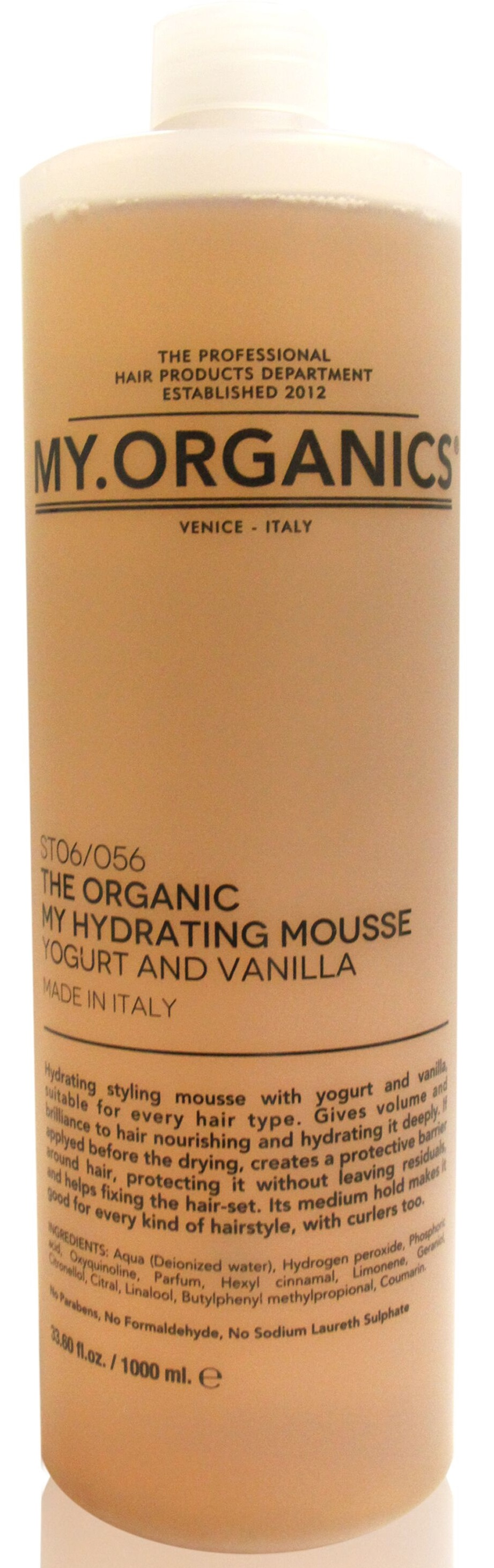MY.ORGANICS The Organic My Hydrating Mousse Yogurt And Vanilla 1000ml
