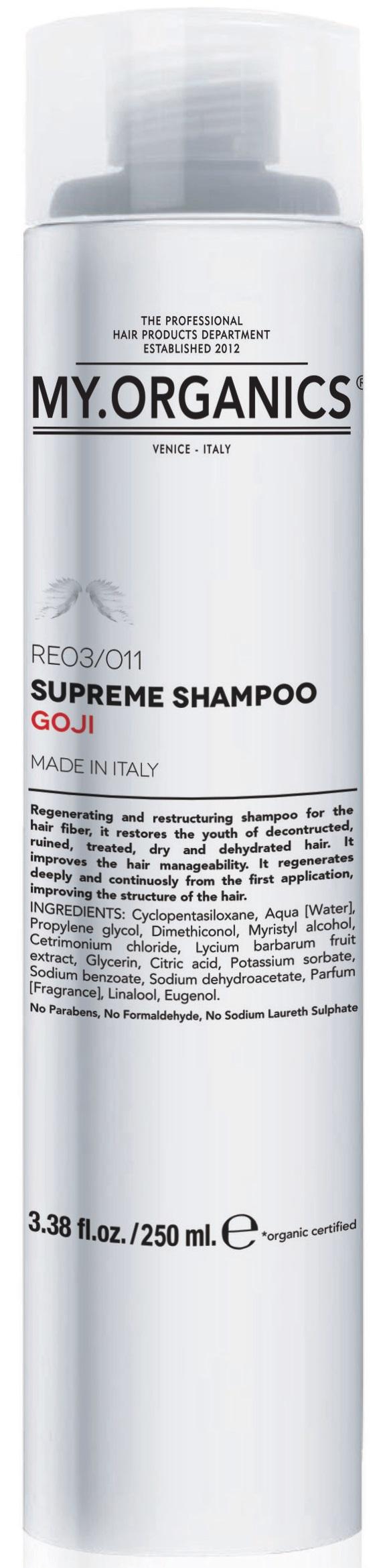 MY.ORGANICS Supreme Shampoo Goji 250ml