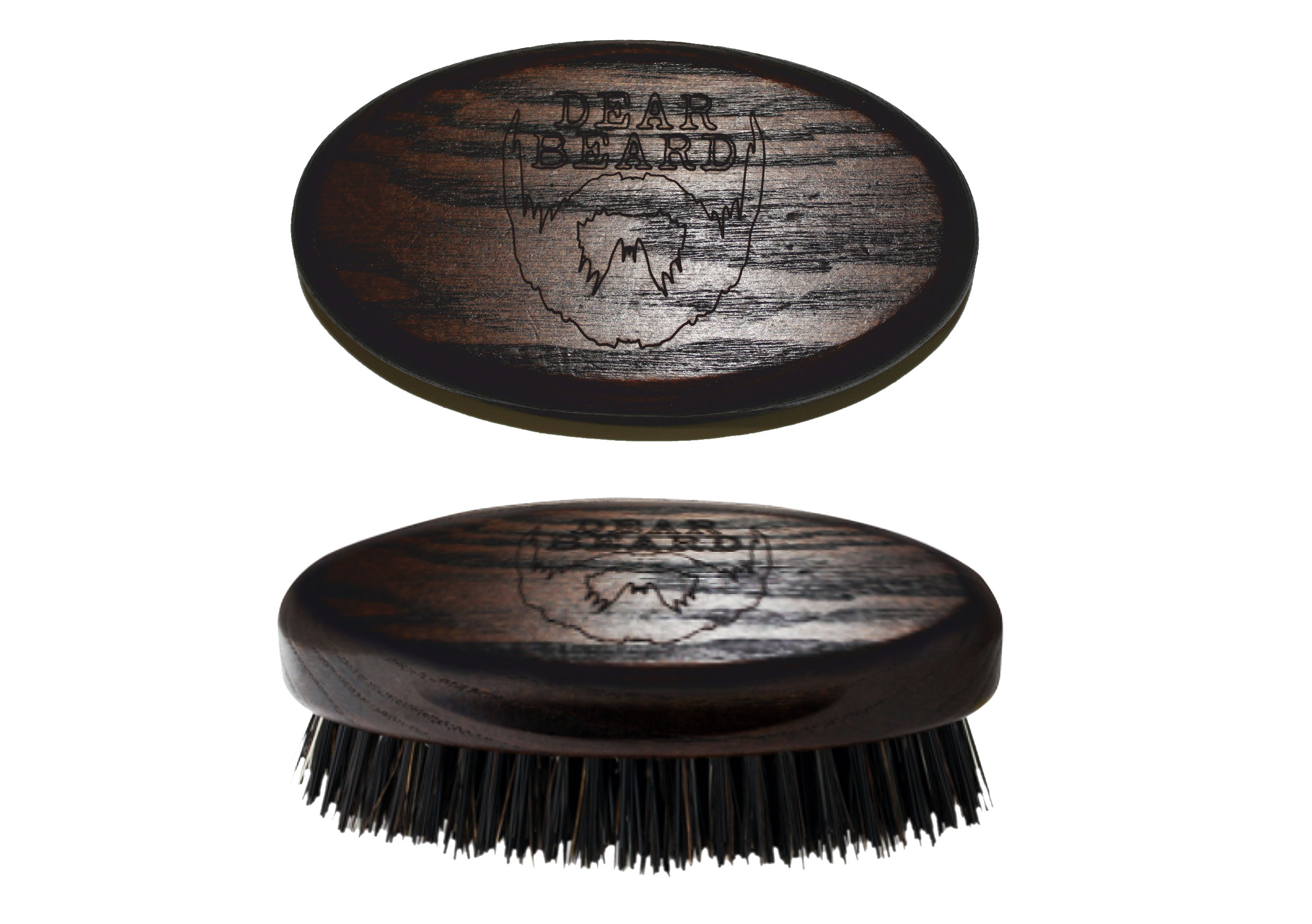 DEAR BEARD Mini Wood Brush (made in Italy)