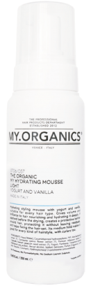 MY.ORGANICS The Organic My Hydrating Mousse Light Yogurt And Vanilla 250ml