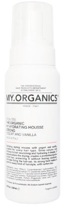 MY.ORGANICS The Organic My Hydrating Mousse Strong Yogurt And Vanilla 250ml
